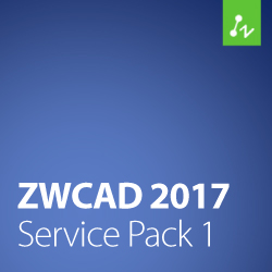 ZWCAD 2017 – Service Pack 1